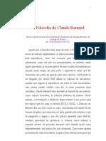 A Filosofia de Claude Bernard