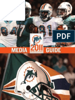 2011 Miami Dolphins Media Guide