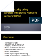 Border Security Using Wireless Integrated Network Sensor Seminar Presentation