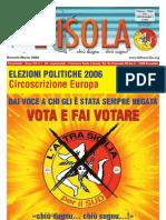 L'ISOLA n 1- Gennaio - Marzo 2006