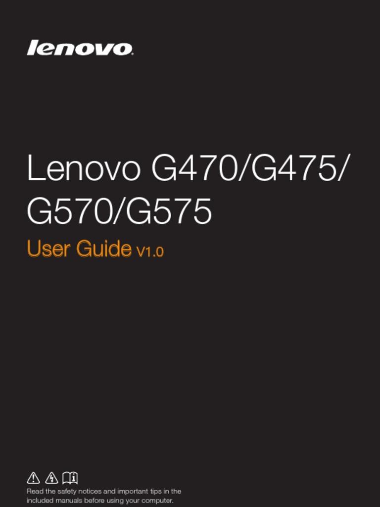 Lenovo G470 G475 G570 | Internet Access | Computer Network