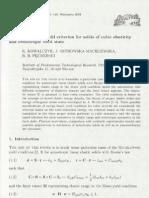 An Energy-based yield criterion for solids of cubic elasticity and orthotropic limit state, K. Kowalczyk, J. Ostrowska-Maciejewska, R.B. Pęcherski