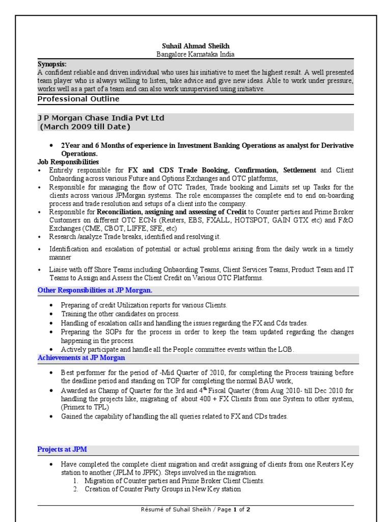 Resume _ 3 Suhail Ahmad Sheikh (1) | Jp Morgan Chase (56 views)