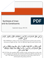 Synthesis of Iman and Its Constituents