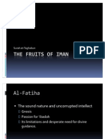 The Fruits of Iman