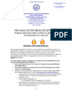 Nevada State Health Dept
