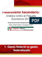 15.08.11.Presentación.Federalismo Hacendario