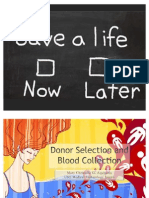 Donor Selection and Blood Collection