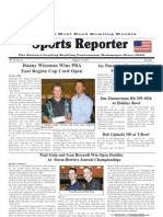 August 3, 2011 Sports Reporter