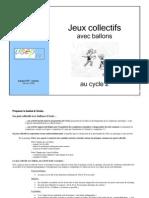 Education Physique Et Jeux Collect Ifs - Cycle 2