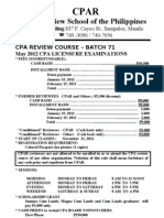 Cpar Batch 71 May 2012 Cpa Exam (1)
