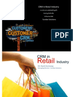 CRM in Retail Industry (การบริหารความสัมพันธ์กับลูกค้า สำหรับธุรกิจค้าปลีก)