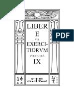 2405532 Aleister Crowley Liber E Vel Exercitiorum IX Espanol