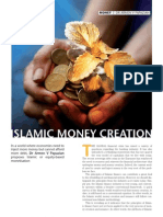Islamic Money Creation