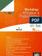 KPI para la Productividad - Ciclus Group