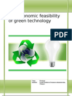The Economic Feasibility of Green Technology_Envisage_LIBA