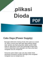 Aplikasi dioda