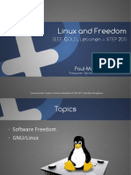 Linux and Freedom