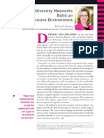 Diversity Journal | Diversity Networks Build an Inclusive Environment - May/June 2011