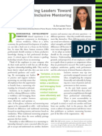 Diversity Journal | Guiding Leaders Toward Inclusive Mentoring - May/June 2011
