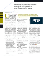 Diversity Journal   ERGs + Community Outreach = Good Business Strategy - May/June 2011