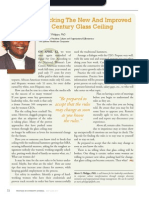 Diversity Journal   Cracking the New and Improved Glass Ceiling - May/June 2011