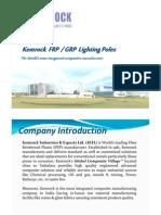 FRP Lighting Poles