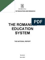 Romanian Education System 2001