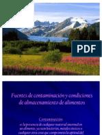 Fuentes de Contaminacion y Condiciones de Almacenamiento De