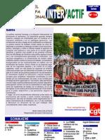 Journal n° 14 Septembre 2008 Espagnol