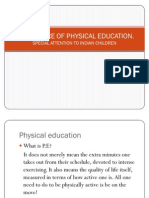 Importance of Physical Educatn