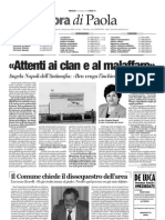 Calabria Ora del 24.09.08