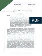 Firm Generating Capacity