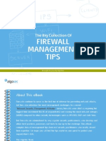 Collection of Firewall Management Tips