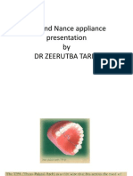 TPA and Nance Appliance Presentation by DR ZEE