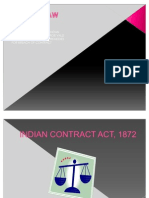 Business Low Indian Con Act, 1872