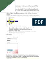 Envio de Correo Electronico Desde Un Formula Rio de Flash Usando PHP o ASP