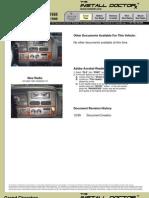 3033112 Jeep 1996 1998 Grand Cherokee Radio Replacement