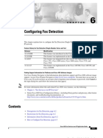 Configuring Fax Detection - CHAPTER 6