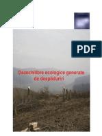 Ebook Dezechilibre ecologice generate de despăduriri