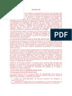 DESARROLLO DE PERSONAL Y CAPACITACION PARA UN DESEMPEÑO EFECTIVO