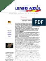 Milenio Azul 14 Editorial Octubre 2005