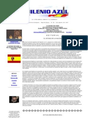 Social Milenio 2007Democracia Agosto Azul 56 Julio España 3jc5L4qARS
