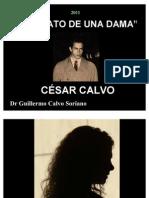 César Calvo - Retrato de una Dama - Poesía
