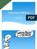Audiencias Pùblicas-Modulo 1 - Audiencias Publicas