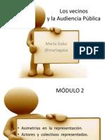 Audiencias Pùblicas-Modulo 2 - Vecinos
