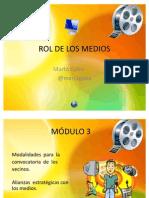 Audiencias Pùblicas-Modulo 3 - Convocatoria y Medios
