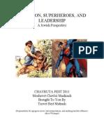 Shimshon, Superheroes, and Leadership