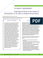 Independent Research - Pd 360 Impact