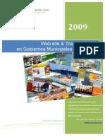 Website & Transparencia en Gobiernos Municipales de Jalisco 2009
